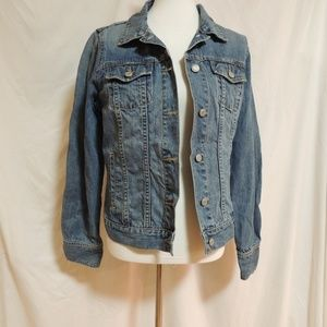 Old Navy Women's Classic Jean Jacket Size Large